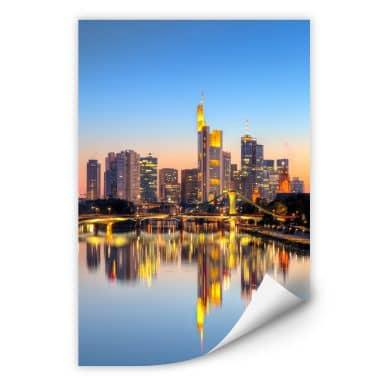 Wallprint W - Frankfurter Lichter