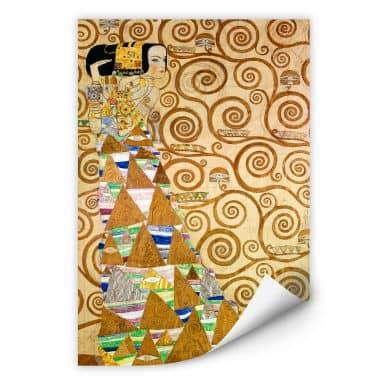 Wallprint W - Klimt - Die Erwartung