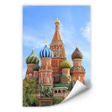 Wallprint W - St. Basilius Kathedrale Moskau