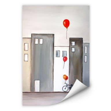 Wallprint W - Melz - Der Ballonverkäufer