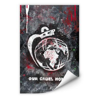 Wallprint Buttafly - Our Cruel World