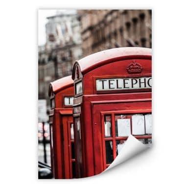 Wallprint W - Britische Telefonzelle