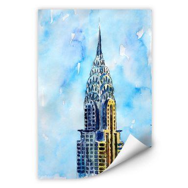 Wallprint Bleichner - Chrysler Building in NYC