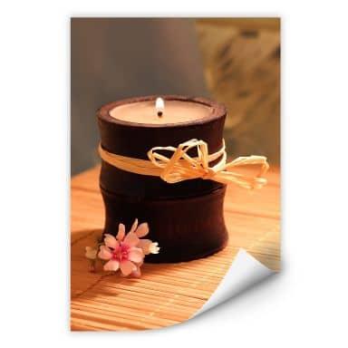 Wallprint Wellness Candle