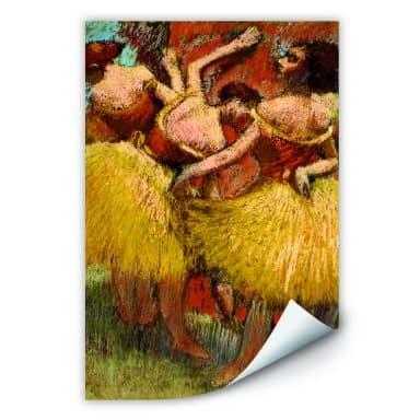 Wallprint Degas - Drei Tänzerinnen