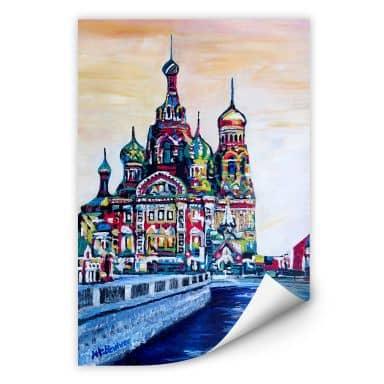 Wallprint Bleichner - St. Petersburg