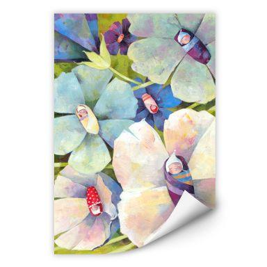 Wallprint Blanz - Blütenbabies