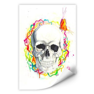 Wallprint Buttafly - Skull