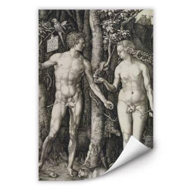 Wallprint Dürer - Adam und Eva
