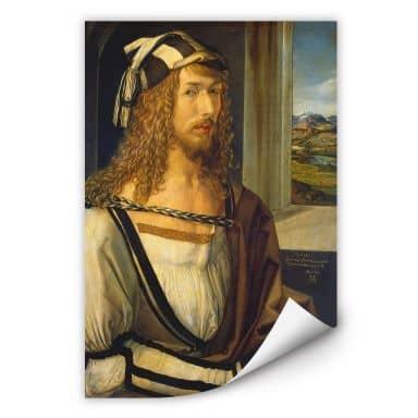 Wallprint Dürer - Selbstbildnis mit Landschaft