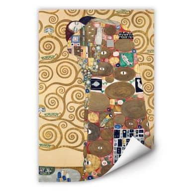 Wall print Klimt - The Fulfillment