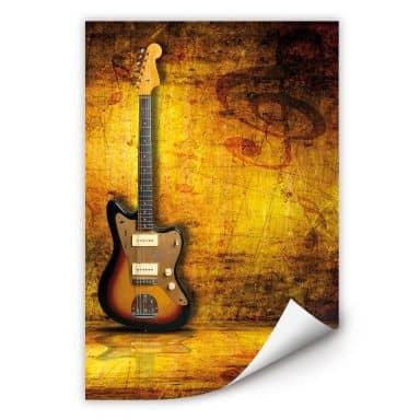 Wallprint W - Electric Guitar