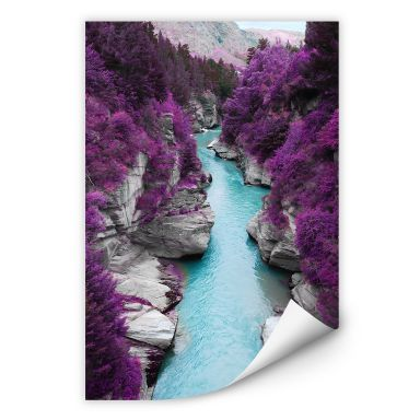 Wallprint W - Kawarau River Panorama