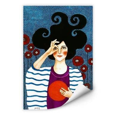 Zelfklevende Poster - Hülya - Moment of Comfort