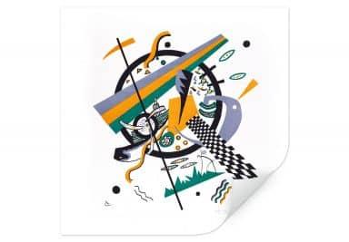Wallprint Kandinsky - Kleine Welten 4