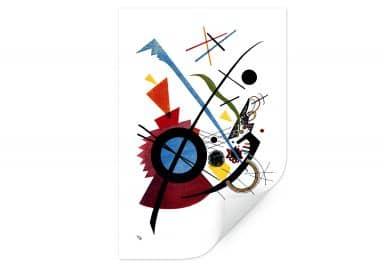 Wallprint Kandinsky - Violett