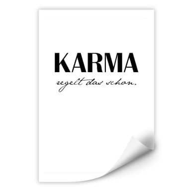 Wallprint Karma regelt das schon