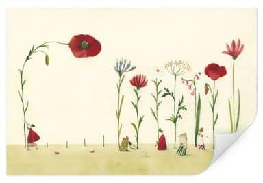 Wallprint Leffler - Blumensamen