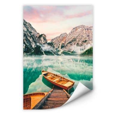Wallprint Lago di Braies