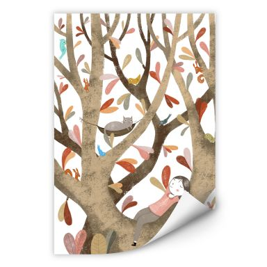 Wall print Loske - In the tree 02