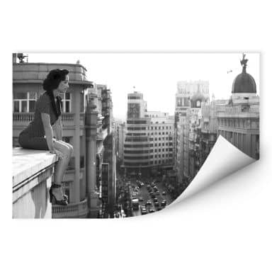Wallprint - Marcos - On the rooftop