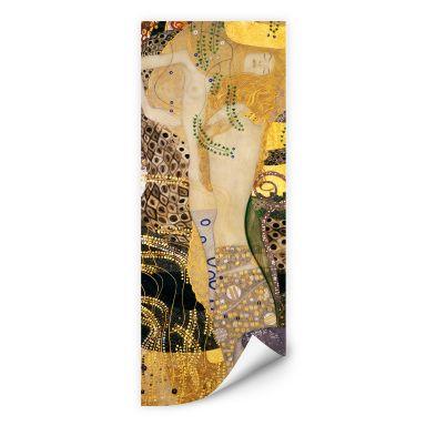 Wallprint W - Klimt - Wasserschlangen I.