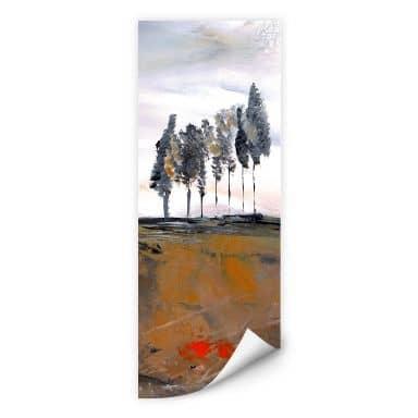 Wall print W - Niksic - Tree Avenue - Panorama