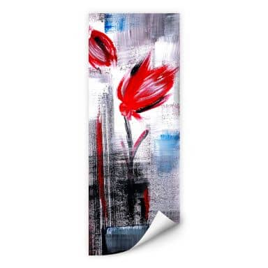 Wall print W - Niksic - Tulips - Panorama