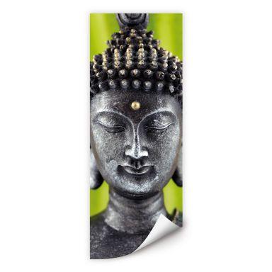 Wallprint W - Green Buddha - Panorama