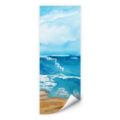 Wall print Toetzke - Sound of the Sea - Panorama 01