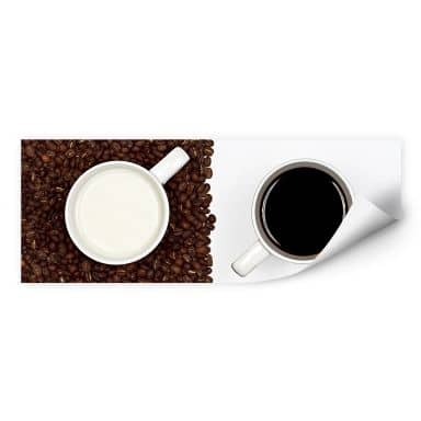 Wallprint Lavsen - White Espresso - Panorama