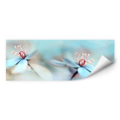 Wall print Westum - Tender blossoms