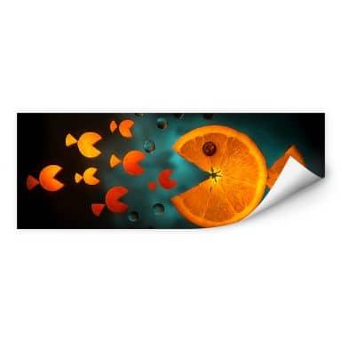 Wallprint Ianeva - Sweet Carrot - Panorama