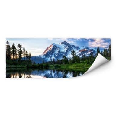 Zelfklevende Poster Papp - Mountain Wilderness
