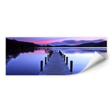 Wall print W - Lake Panorama