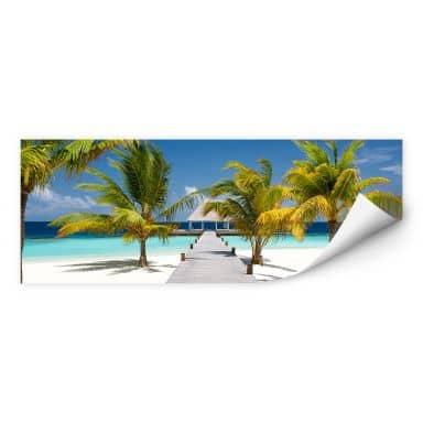 Wallprint W - Der Weg ins Paradies - Panorama