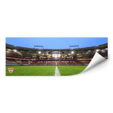 Wallprint W - VfB Stuttgart Arena Tribüne - Panorama
