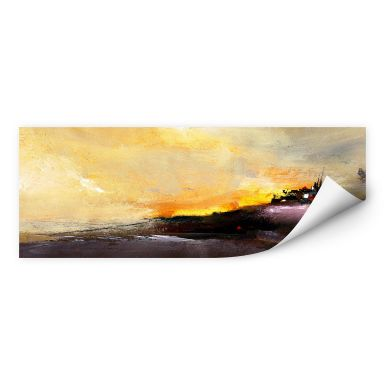 Wall print W - Niksic - Good Morning - Panorama