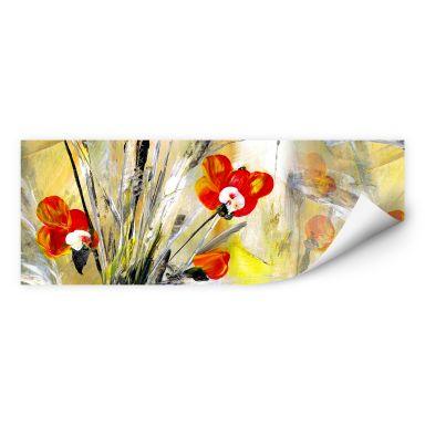 Wall print Niksic - Little Poppy - Panorama