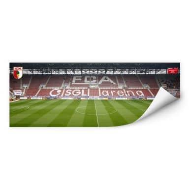 Wallprint W - FC Augsburg Stadion Tribüne Panorama