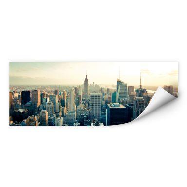 Wall print Skyline of New York City - Panorama