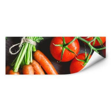 Wallprint Fresh Cooking - Panorama