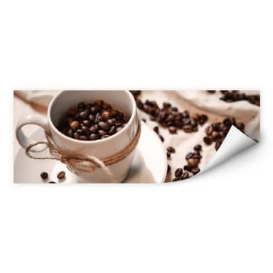 Wallprint Kaffee Zauber - Panorama