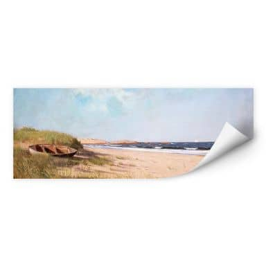 Wallprint Silva - Am Strand - Panorama