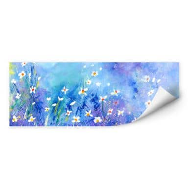 Wallprint Niksic - Ein Sommer in Blau