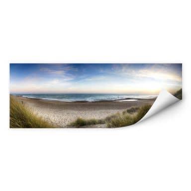 Wall print Beach Panorama