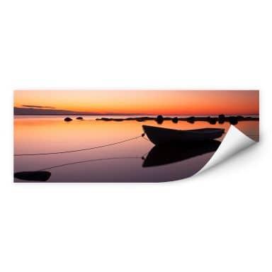 Wall print Silent Sea - Panorama