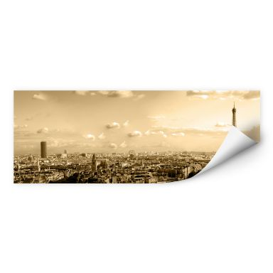 Wallprint Paris Skyline - Panorama