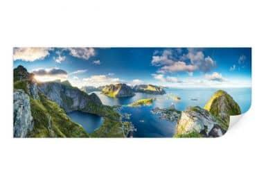 Wallprint Roemmelt - Aussicht vom Reinebringen - Panorama