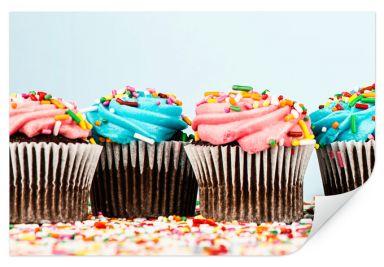 Wallprint W - Party Cupcakes